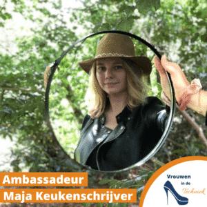 Ambassadeur van Vrouwen in de Techniek Maja